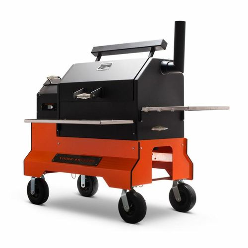 Yoder YS-640S Cart Pellet Grill Modell 2020 mit Adaptivem Control System (ACS) und WIFI