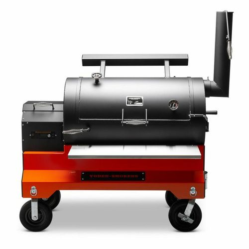 Yoder YS-1500S Cart Pellet Grill Modell 2020 mit Adaptivem Control System (ACS) und WIFI