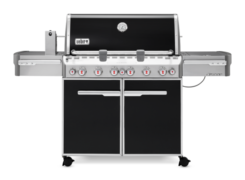 Weber Summit E-670 – Gasgrill - Black